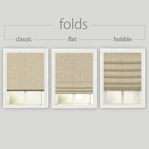 Deluxe Solids Roman Shades 4804