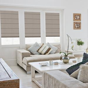Premium Solid Blackout Roman Shades 6074