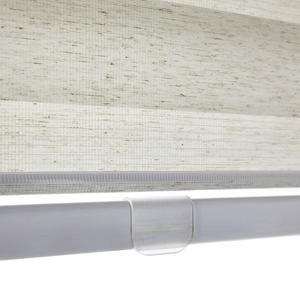 Cordless Bottom Rail Shown on Premium Flat Rollers from SelectBlinds.com
