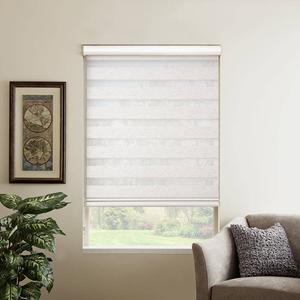 SelectBlinds.com Premium Flat Rollers shown in Natural