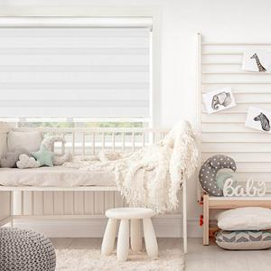 Premium Flat Rollers in Ivory | SelectBlinds.com
