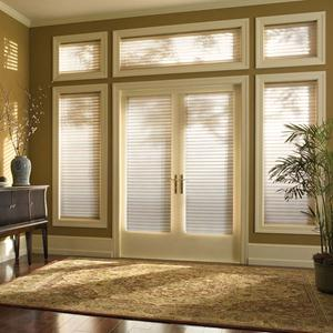 Privacy Control with 2 Inch Room Darkening Sheers from SelectBlinds.com