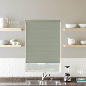 "3"" Light Filtering Sheer Shades 6858 Thumbnail"