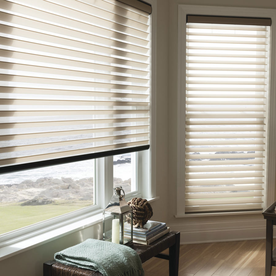 Shop our Sheers now! | Pictured: 3 Inch Room Darkening Sheers from SeelctBlinds.com