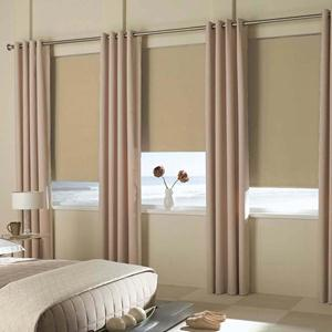 Reminiscent Vinyl Blackout Roller Shades 5147