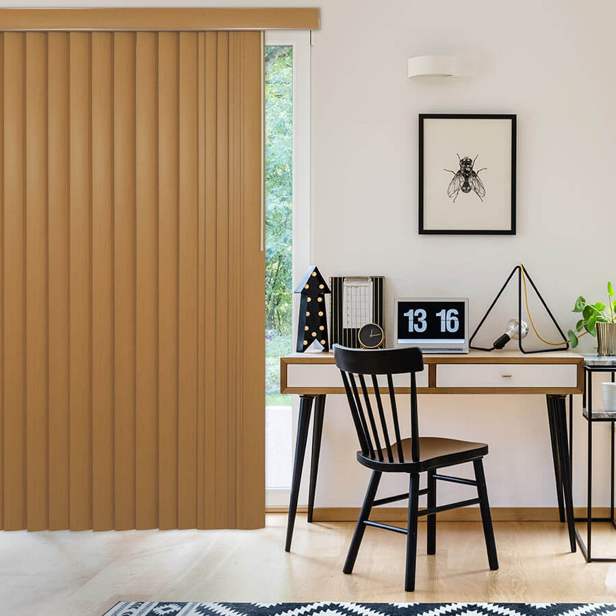 Awe Inspiring Premium Faux Wood Vertical Blinds Selectblinds Com Door Handles Collection Olytizonderlifede