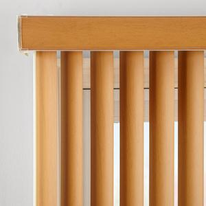 "3 1/2"" Designer Faux Wood Vertical Blinds 6636"