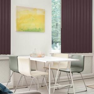 Premium Faux Wood Vertical Blinds 6020 Thumbnail