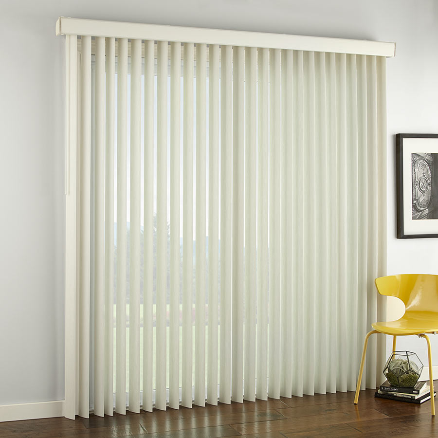 "3 1/2"" Select Textured Vertical Blinds"