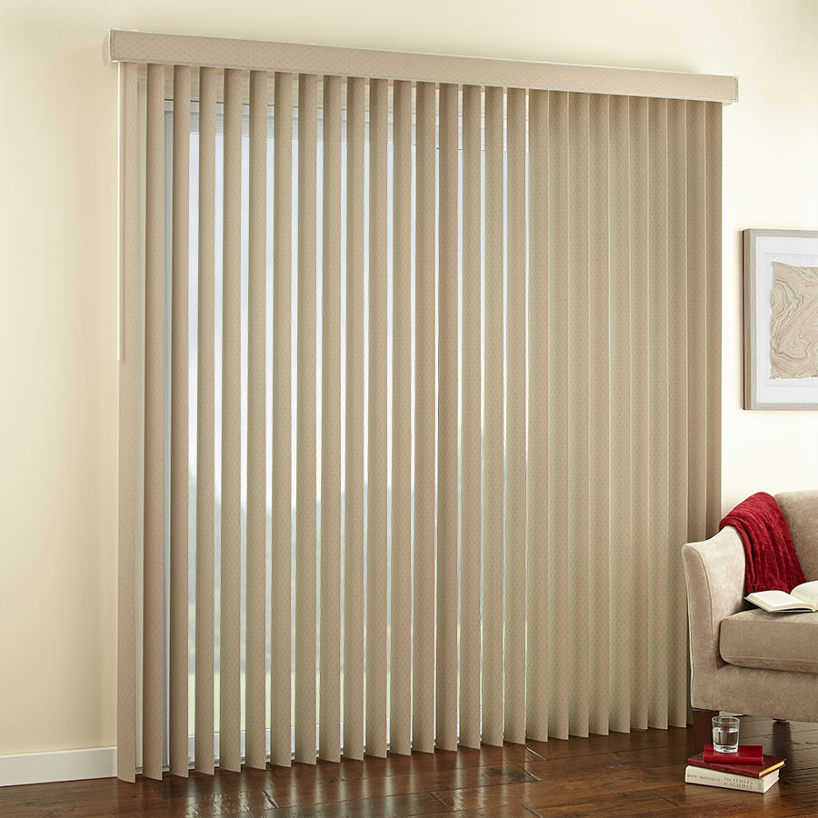 "3 1/2"" Premium Textured Vertical Blinds"