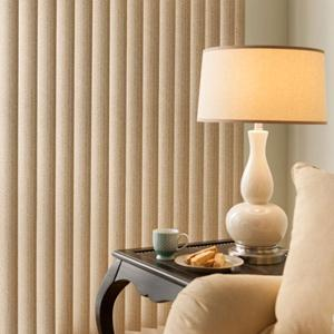 "3 1/2"" Premium Faux Wood Vertical Blinds 5613 Thumbnail"