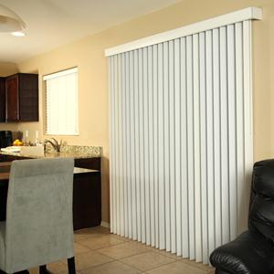 Select Faux Wood Vertical Blinds 5750