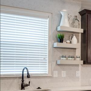 "2"" Designer Faux Wood Blinds 5929"