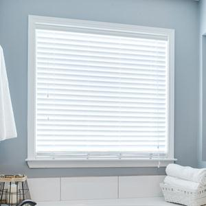 "2"" Designer Faux Wood Blinds 5930"