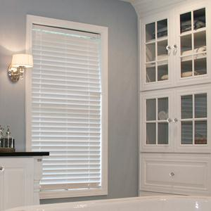 "2"" Designer Faux Wood Blinds 5845"
