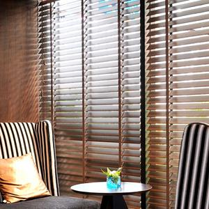 "2"" Designer Faux Wood Blinds 5113"