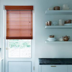 "2"" Designer Faux Wood Blinds 5543"