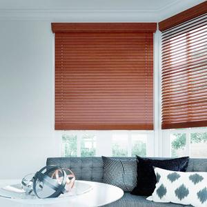 "2"" Designer Faux Wood Blinds 5545"