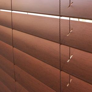 "2 1/2"" Designer Faux Wood Blinds 5972"
