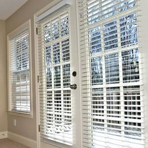 "1"" Designer Faux Wood Blinds 5359"