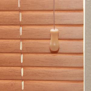 "1"" Designer Faux Wood Blinds 5649"