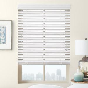 "Porcelain 2"" Select Faux Wood Blinds"