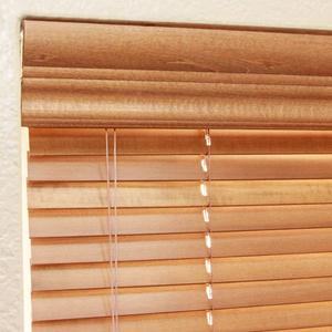 "1"" Designer Basswood Wood Blinds 5401"