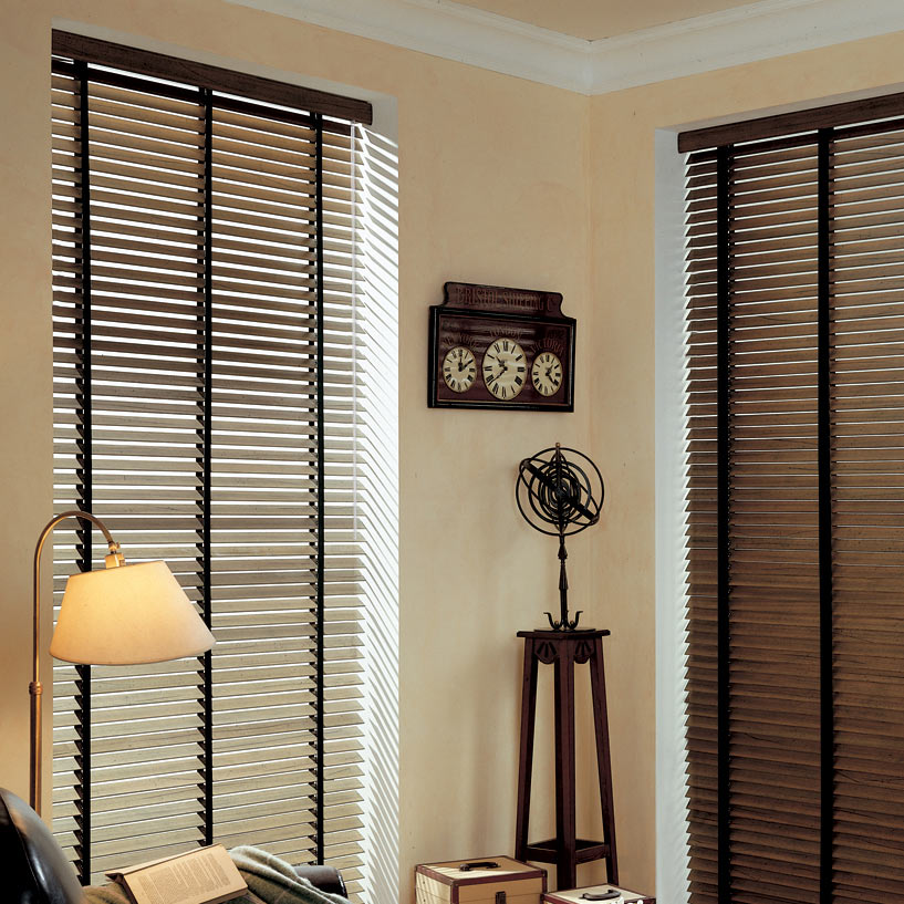 Shop our Woods now! | Pictured: 2 Inch Artisan   American Distressed Woods from SelectBlinds.com