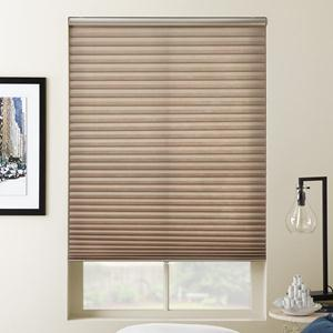 Select Light Filtering No-Holes Pleated Shades 8404