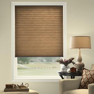 @Home Collection Solids Light Filtering Pleated 5379