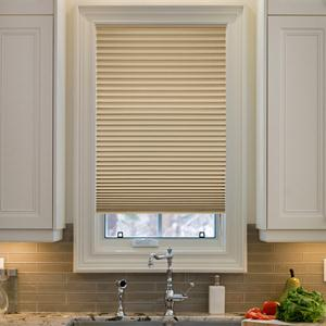 @Home Collection Solids Blackout Pleated Shades 5384
