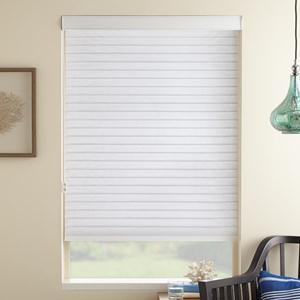 "@Home Collection 2"" Linen Light Filtering Sheer"