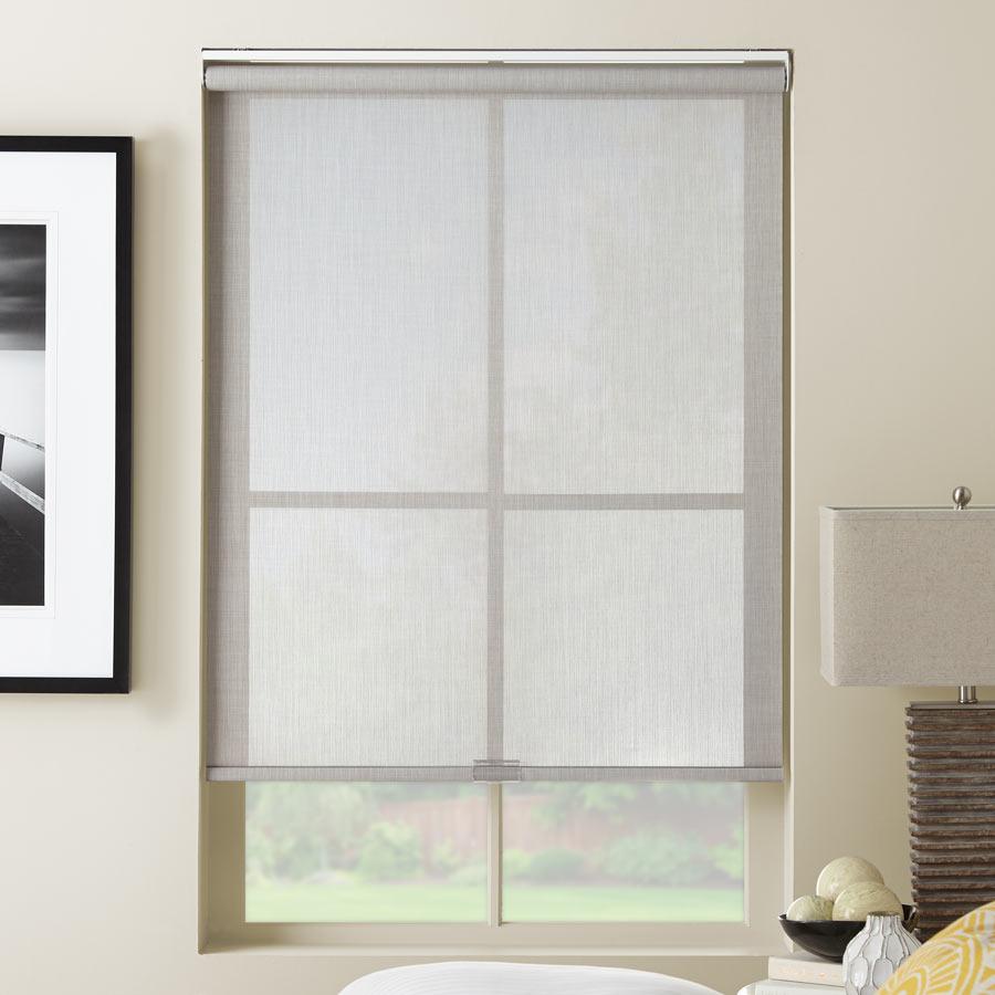At Home Collection Designer Screen Solar Shades Selectblindscom