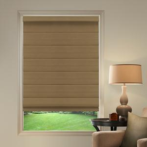 Basic Solid Blackout Roman Shades