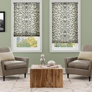 @Home Collection Light Filtering Roman Shades 5388