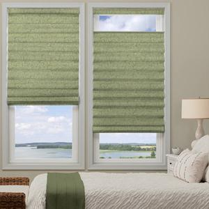 @Home Collection Light Filtering Roman Shades 5387