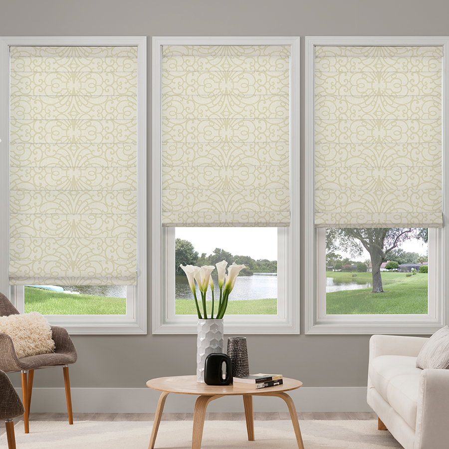 Home Collection Blackout Roman Shades Selectblinds