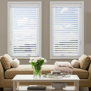 "@Home Collection 2 1/2"" Alloy Wood Blinds 5391"