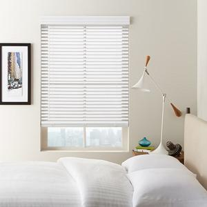 "1 1/2"" Cordless Faux Wood Blinds 6573"
