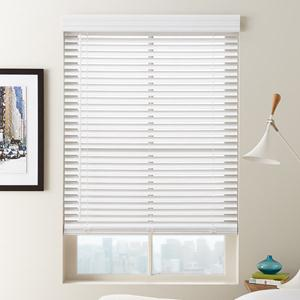 "1 1/2"" Cordless Faux Wood Blinds 6571 Thumbnail"