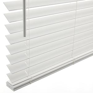 "1 1/2"" Cordless Faux Wood Blinds 5347 Thumbnail"