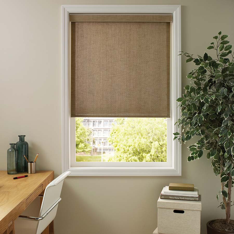 Good Housekeeping Solar Roller Shades make great classroom window coverings.