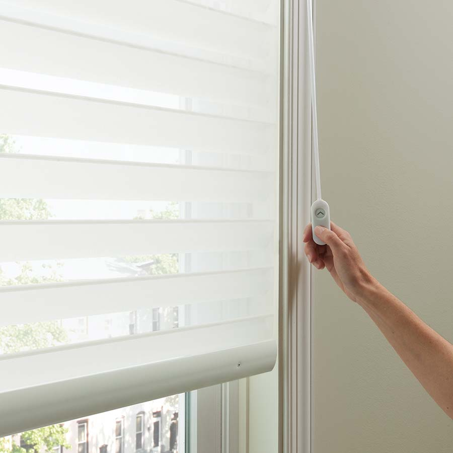 Good Housekeeping 2 Inch Light Filtering Sheer Shades Make Great Large Window Coverings