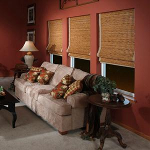 @Home Collection Woven Woods Shades 5023