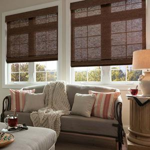 Good Housekeeping Woven Wood Shades 5036