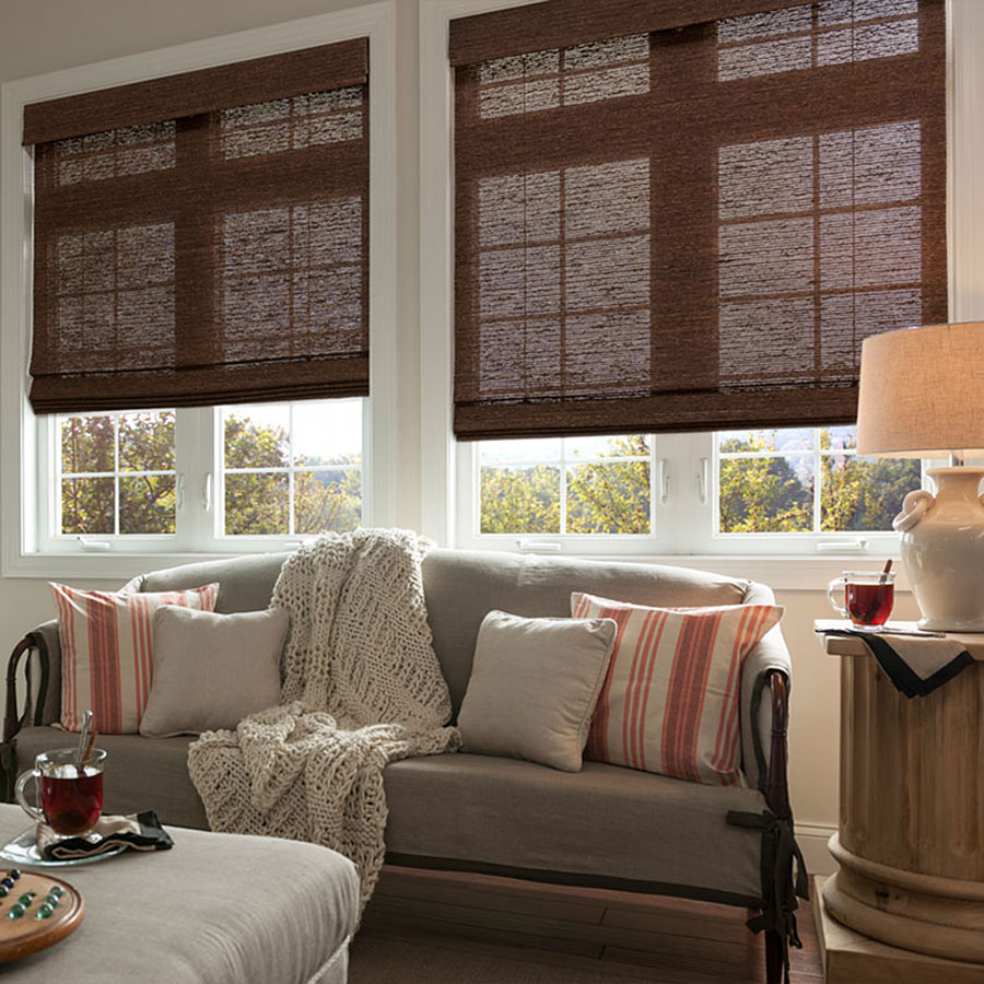Good Housekeeping Woven Wood Shades