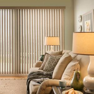 Good Housekeeping Cordless Vertical Blinds 5436