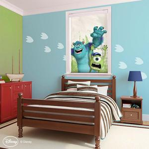 Disney Monsters Cordless Roller Shades 4920