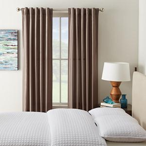 back tab drapes curtains