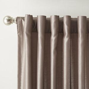Back Tab Top Curtains And Custom Back Tab Drapes
